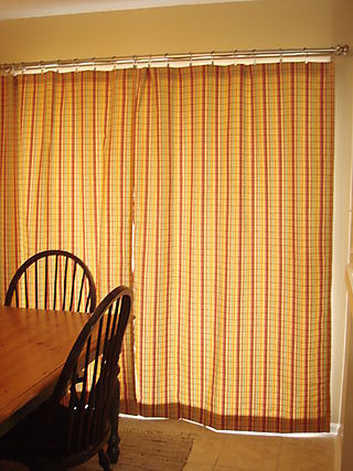 Closed drapes